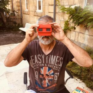 stereoscopic photographic collector